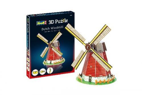 3D Pussel Dutch Windmill