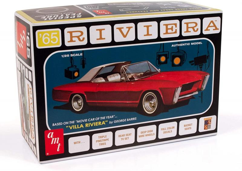 1965 Buick RIViera (George Barris) 1/25