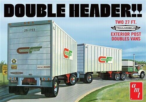 Double Header Tandem Van 1/25
