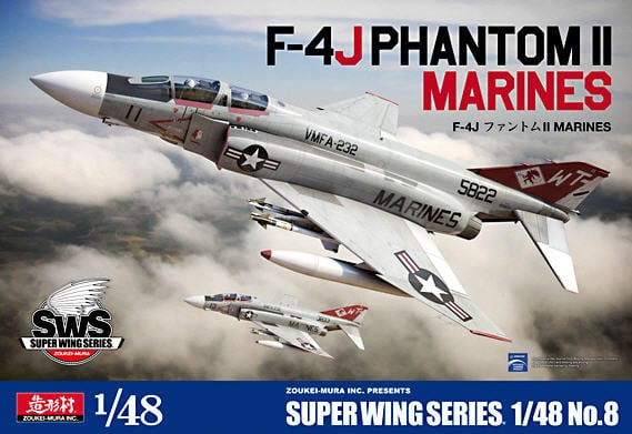 F-4J Phantom II Marines 1/48