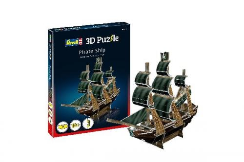 3D Pussel Pirate Ship