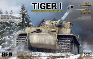 German Tiger I Early Production Wittmann's Tiger No. 504 1/35