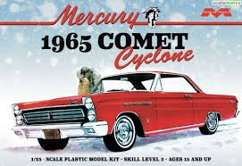 1965 Mercury Comet Cyclone 1/25