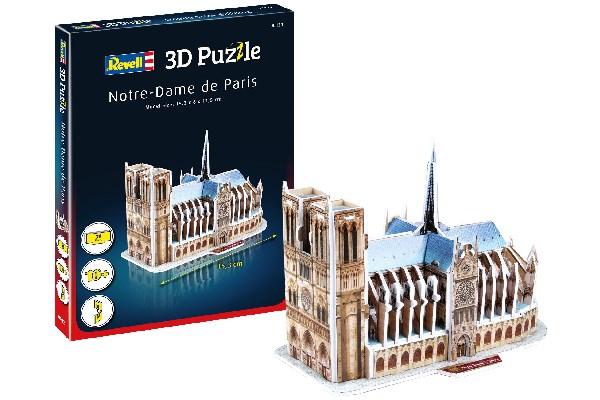 3D Pussel Notre Dame De Paris
