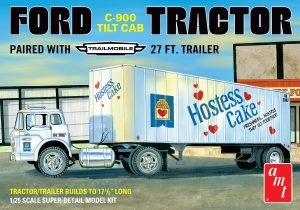FORD C600 HOSTESS TRUCK WITH TRAILER 1/25