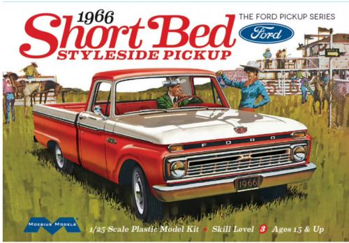 Ford Short Bed Styleside Pickup Truck 1/24