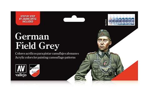 German Field grey Uniform (x8)