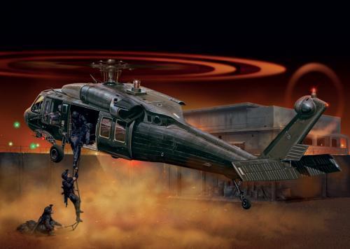 "UH-60 Black Hawk ""Night Raid"" 1/72"