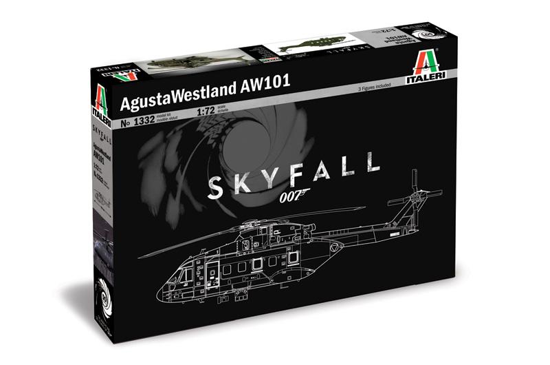 Agusta Westland AW - 101 ''SKYFALL'' 007 movie