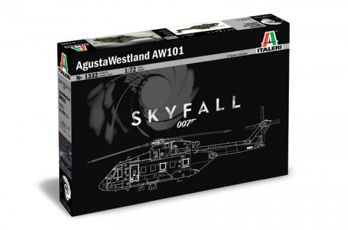Agusta Westland AW - 101 ''SKYFALL'' 007 movie