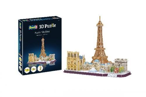 3D Pussel Paris Skyline