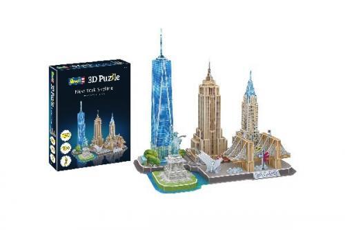 3D Pussel New York Skyline