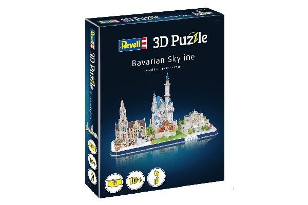 3D Pussel Bavarian Skyline