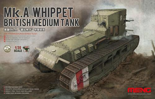 British Medium Tank Mk.A Whippet 1/35