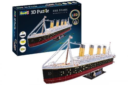 3D Pussel RMS Titanic LED