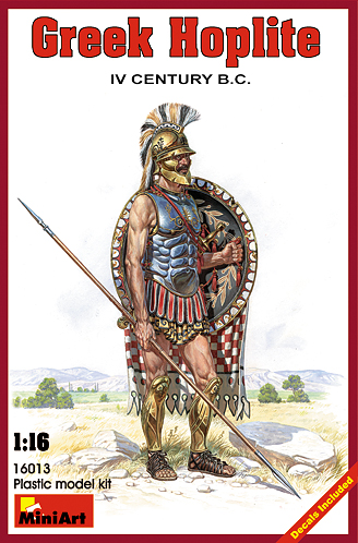 Greek Hoplite - IV Century B.C. 1/16