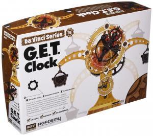 Leonardo da Vinci Clock (no glue, movable parts)