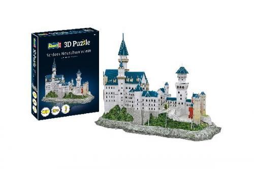 3D Pussel Neuschwanstein Castle