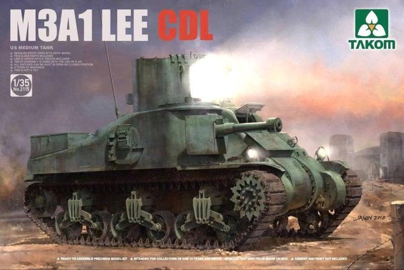 M3 Grant British Medium Tank 1/35