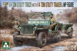 1/4 Ton Utility Truck 1/35