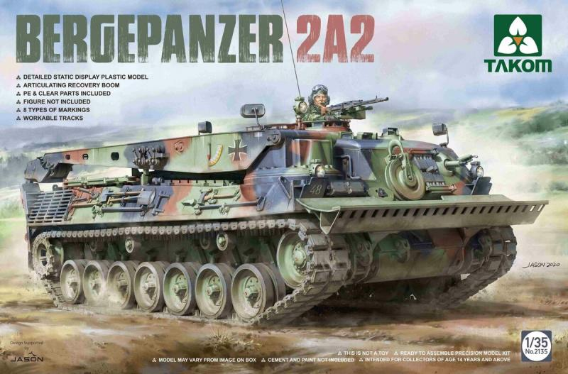 Bergepanzer 2A2 1/35