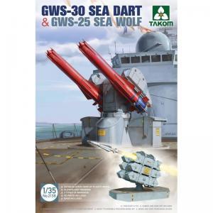 GWS-30 Sea Dart & GWS-25 Sea Wolf 1/35