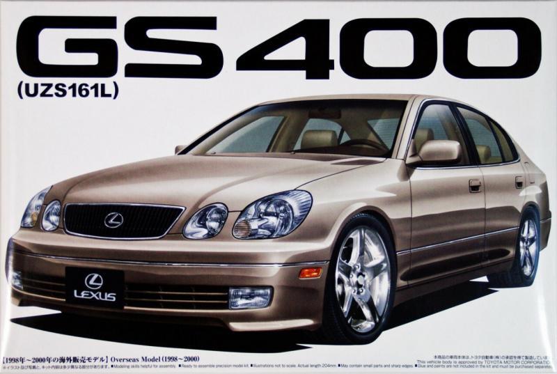 Lexus GS400 (UZS161L) 1/24