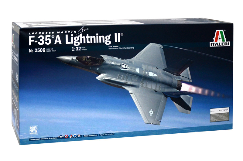 F-35®A Lightning II® w/Japan Air Self Defense Force Markings 1/32