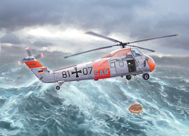 H-34G.lll/UH-34J 1/48