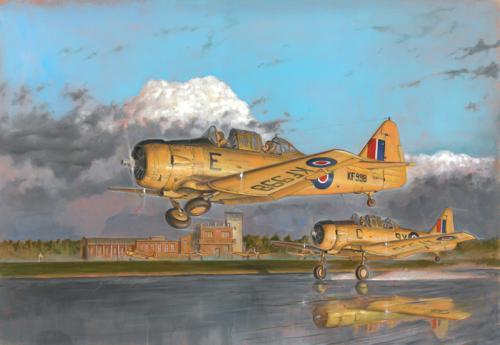 Harvard Mk. IIa (Sk 16 med svenska dekaler) 1/48
