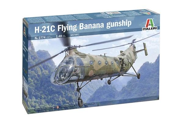 H-21 Flying Banana Gunship 1/48