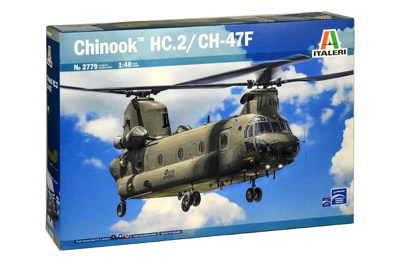 CHINOOK HC.2 CH-47F 1/48