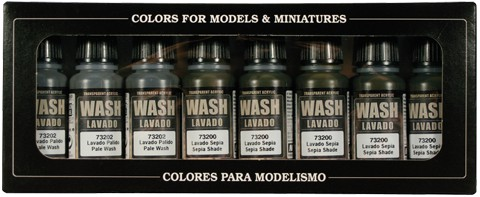 Washes (x8)