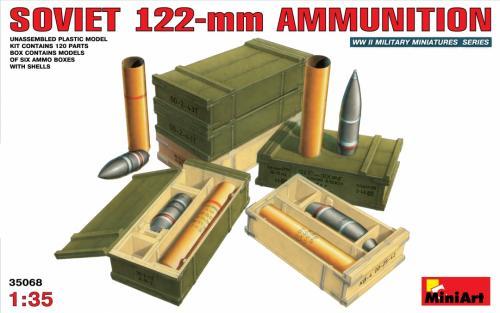 SOVIET 122-mm AMMUNITION 1/35