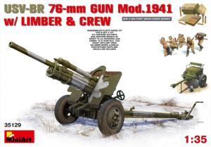 USV-BR 76-mm GUN Model 1941 1/35