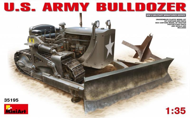 US Army Bulldozer 1/35