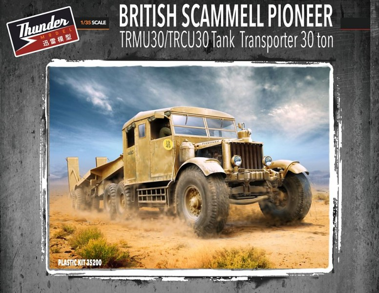 Scammell Pioneer Tank Transporter 30t 1/35
