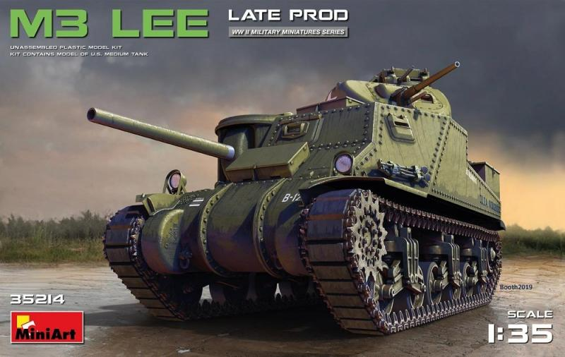 M3 Lee Late Production 1/35