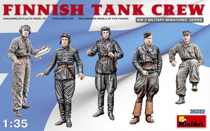 Finnish Tank Crew 1/35