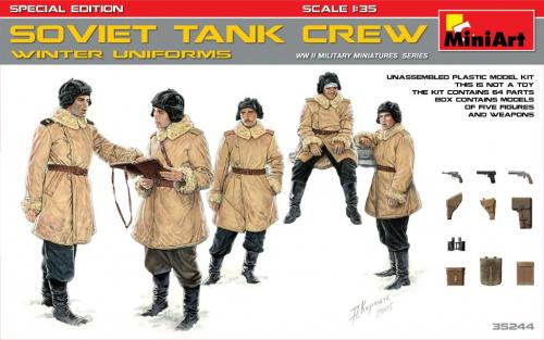 SOVIET TANK CREW (WINTER UNIFORMS) SPECIAL EDITION 1/35