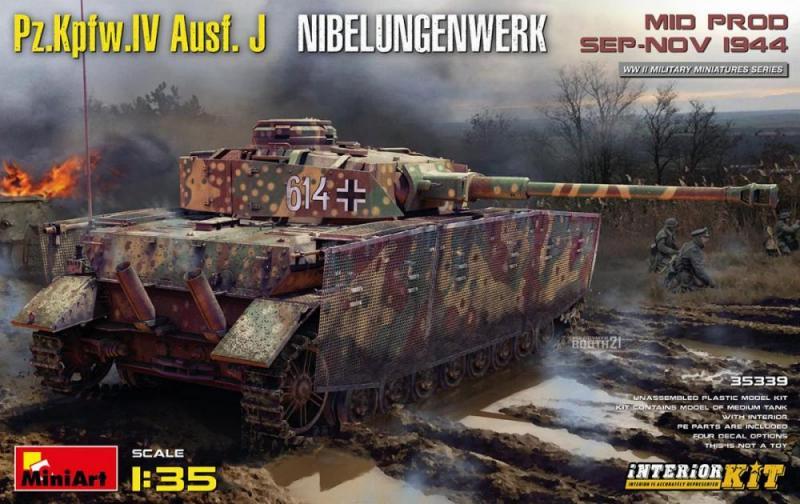 Pz.Kpfw.IV Ausf. J Nibelungenwerk 1/35