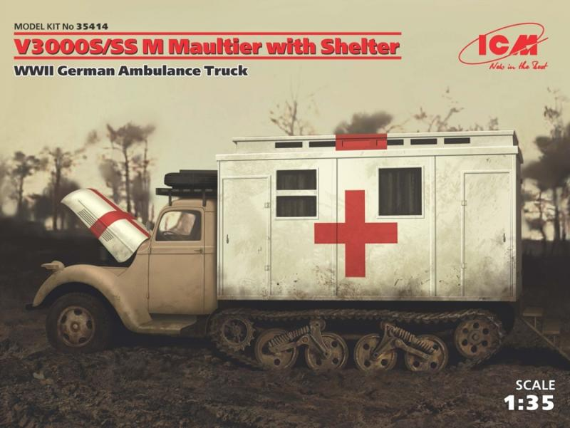 V3000S/SS M Maultier with Shelter 1/35