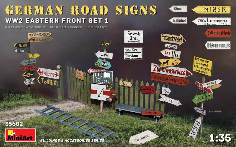 German Road Signs WWII (Eastern Front 1) 1/35