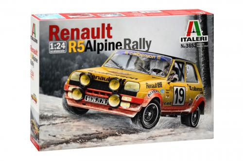 RENAULT R5 ALPINE RALLY 1/24