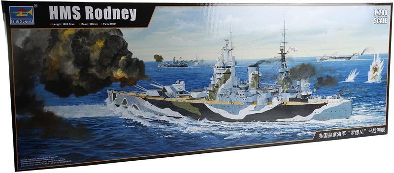 HMS Rodney L. 108 cm 1/200