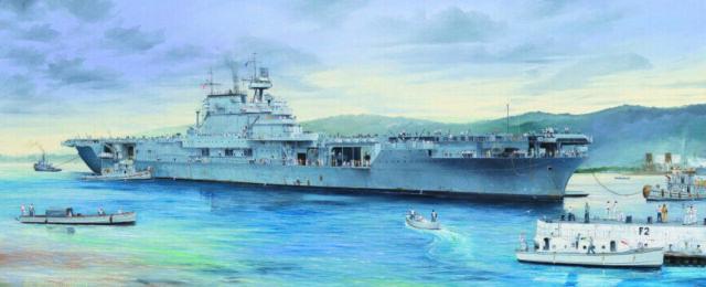 USS Enterprise CV-6 L. 125 cm 1/200