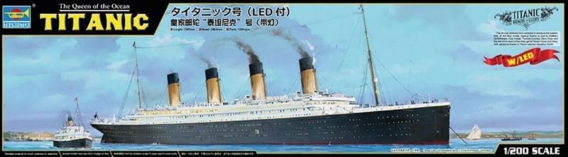 Titanic incl. Led set L. 135 cm 1/200