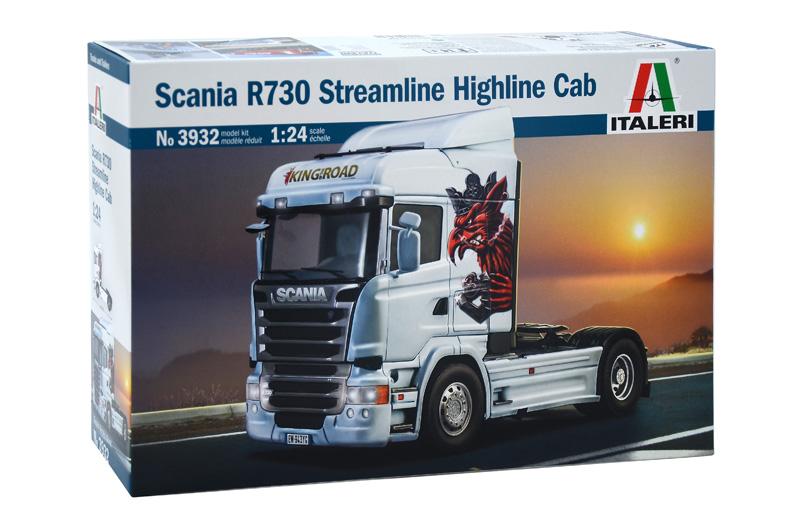 SCANIA R730 STREAMLINE HIGHLINE CAB 1/24