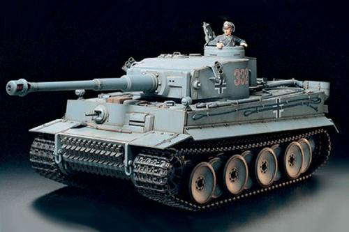 TIGER 1 W/OPTION KIT 1/16