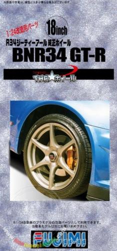 18inch BNR34 Skyline GT-R Purity Wheel 1/24